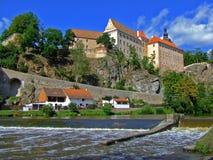 Schloss Bechyne stockbilder
