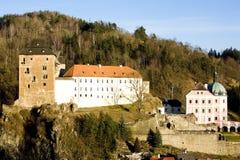 Schloss Becov nad Teplou Stockfoto