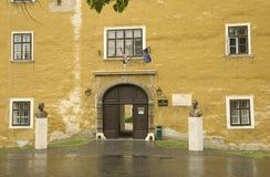 Schloss bei Mosonmagyarovar Stockbild