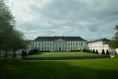 Schloss Bellevue或者Bellevue宫殿,柏林 库存照片