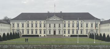 Schloss Bellevue images libres de droits