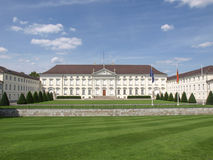 Schloss Bellevue Berlín Foto de archivo