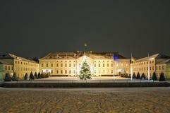Schloss bellevue in Berlijn Royalty-vrije Stock Afbeeldingen