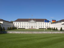 Schloss Bellevue, Berlin Royalty Free Stock Photography