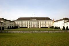 Schloss Bellevue in Berlin royalty free stock photos