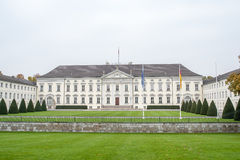 Schloss Bellevue stock photo