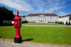 Schloss Bellevue. Presidential palace, Berlin, Germany Royalty Free Stock Photos