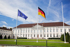 Schloss Bellevue. Presidential palace, Berlin, Germany. Schloss Bellevue, the Presidential palace in Berlin, Germany Royalty Free Stock Images