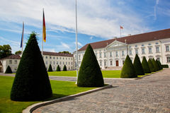 Schloss Bellevue. Presidential palace, Berlin, Germany Stock Photography