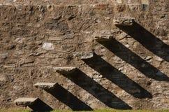Schloss in Bellinzona Stockfotos