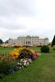Schloss Belvedere Lizenzfreie Stockbilder
