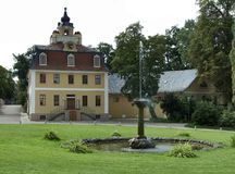 Schloss Belvedere Royalty Free Stock Photos