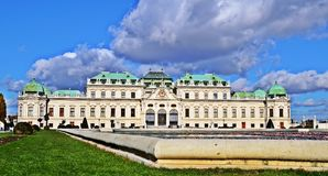 Schloss Belvedere Stock Photo