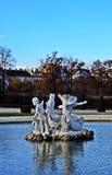Schloss belweder Wien Fotografia Royalty Free