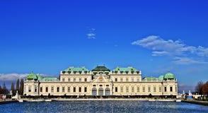Schloss belweder Wien Obrazy Stock