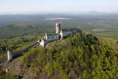 Schloss Bezdez Stockfotografie