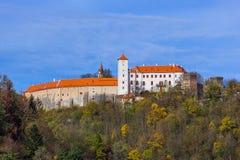 Schloss Bitov in der Tschechischen Republik stockfotografie
