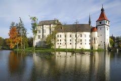 Schloss Blatna Stockfotos