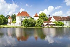 Schloss Blutenburg-Bayern Deutschland lizenzfreie stockbilder