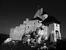 Schloss Bobolice Stockfotografie
