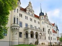 Schloss Boitzenburg, château allemand Photos libres de droits