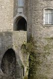 Schloss in Boulogne. Pasde Calais. Frankreich lizenzfreie stockfotografie