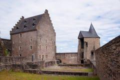 Schloss bourscheid, Luxemburg Stockfoto