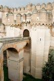 Schloss-Brücke Stockbild