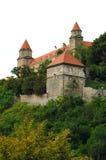 Schloss in Bratislava Stockfoto