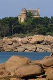 Schloss in Bretagne Lizenzfreies Stockfoto