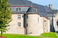 Schloss Broich MÃ ¼ lheim fotografia royalty free