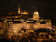 Schloss Buda Lizenzfreies Stockbild