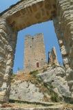 Schloss Carpineti auf Emilia Rumänien Lizenzfreies Stockbild