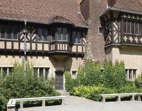 Schloss Cecilienhof Royalty Free Stock Photography