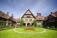 Schloss Cecilienhof. Is a palace located in Neuer Garten (Potsdam), where the Potsdam Conference took place in 1945 Stock Images