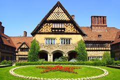Schloss Cecilienhof. Potsdam Royalty Free Stock Photo