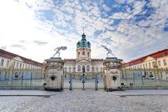 Schloss Charlottenburg Royaltyfria Foton
