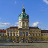 Schloss Charlottenburg, Berlin Royaltyfria Bilder