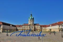 Schloss Charlottenburg in Berlin lizenzfreie stockbilder
