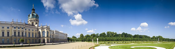 Schloss Charlottenburg, Berlin Royalty Free Stock Photo