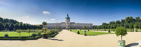 Schloss Charlottenburg, Berlin Royalty Free Stock Image