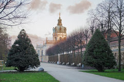 Schloss Charlottenburg, Berlino Fotografie Stock