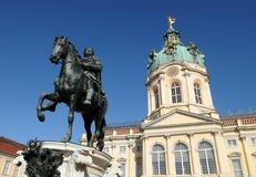 Schloss Charlottenburg Charlottenburg Palace. It is the larges royalty free stock photo