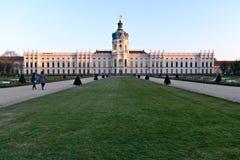 Schloss Charlottenburg stock foto's