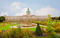 Schloss Charlottenburg. (Charlottenburg Palace) in Berlin, Germany Stock Image