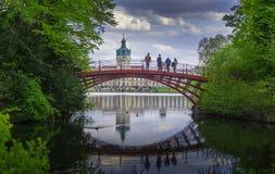 Schloss Charlottenburg - palazzo di Charlottenburg fotografia stock libera da diritti