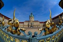 Schloss Charlottenburg. Shoting with fishey optik Royalty Free Stock Photos