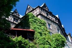 Schloss - Cheastnuty Tarrace Lizenzfreie Stockfotos