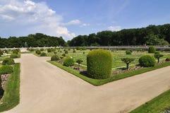Schloss CHENONCEAU Loire Valley nahe dem Dorf von Chenonceaux Lizenzfreie Stockfotografie