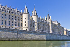 Schloss Conciergerie - ehemaliger königlicher Palast, Paris Lizenzfreie Stockfotos